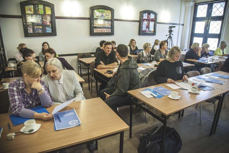 Lublin i Gdynia przeszkolone z obslugi Lekcji Multimedialnych PoZdro 1