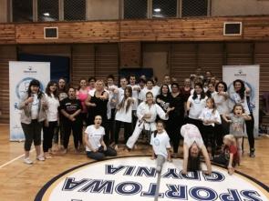 Trening karate z mistrzynią - Malgorzatą Zabrocką!