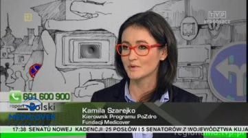 """PoZdro! w programie """"Raport z Polski"""" w TVP Regionalna"""