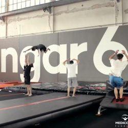 Bezpłatne trampoliny w Warszawie 7 lutego