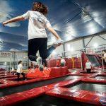 Tanecznie na trampolinach z Naderem