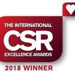 International CSR Awards Logo WINNER 2018