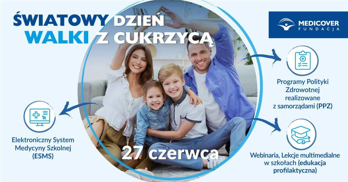 Światowy dzień cukrzycy 2021 banner